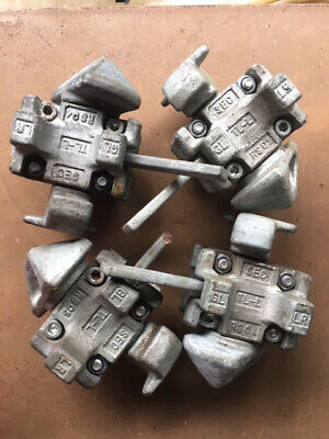 4 Used Tandemloc Stacking Twist Locks Shipping Container Lock
