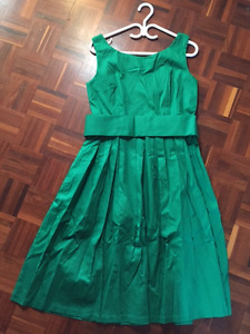 Brand New Lindybop VIntage Green Dress