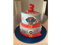 Birthday Cakes - Paw Patrol - Minecraft - Cars - Disney - TV Shows - Wedding - Baby - Novelty