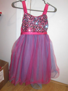 Justice party dress size 14 girls