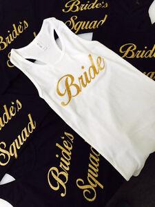 Custom printing Apparel for Wedding, Bachelor, Stag & Doe