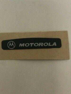 Motorola Xts5000 Black Back Nameplate Label 3305574z01