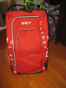 "Grit 36"" tall wheeled tower style hockey bag"
