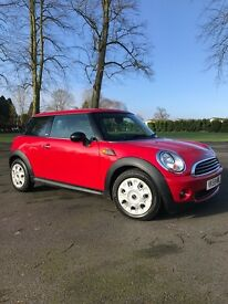 Red Mini 3 door hatchback Full Service History 2 owners