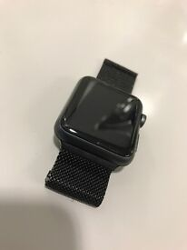 Apple Watch Sport 42mm Black Boxed - with AppleCare+ until Easter 2017