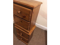 Free: Small Bedside Drawers