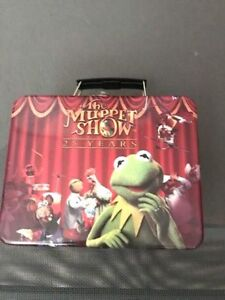 COLLECTIBLE MUPPETS 25th ANNIVERSARY 2003 METAL LUNCH BOX BRAND