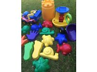 Variety of Sand Toys (Most Brand New)