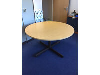 1.2m Round Meeting Table