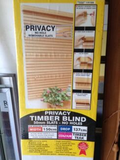 Timber Venetian Blind (new) Yeronga Brisbane South West Preview