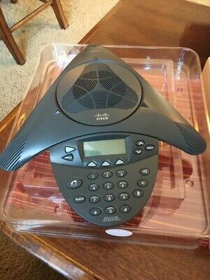 Cisco Cp-7936 Conference Station Ip Phone W Power Adapter In Original Box