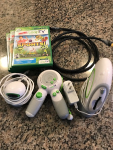 Leap Frop - Leap TV Gaming System + 4 Games!!!!