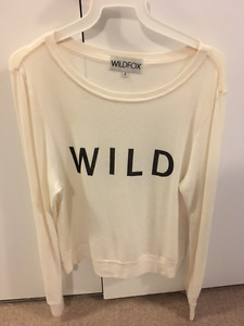 *New Price*  Wildfox lightweight pullover for sale!