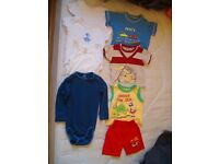 New and used clothes and shoes for boys 9-12 and12-18 months
