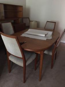 Mid Century Teak Table made in Sweden