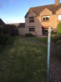 Fantastic opportunity to rent a spacious three bedroom semi-detached in the desirable town of Lauder