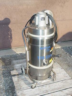 Nilfisk 118exp Explosionproof Stainless Steel Industrial Dry Vacuum