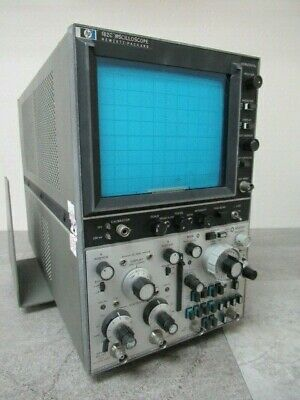 Hp 182c Dual Channel Oscilloscope 8363x