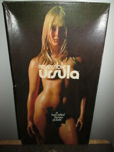 ***VINTAGE URSULA TWO SIDED NUDE MODEL PUZZLE COMPLETE!!!***