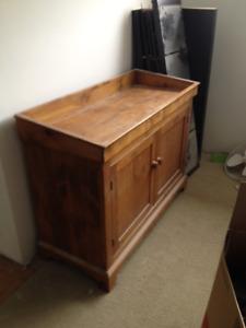 Pine Dry Sink/ bar/tv stand