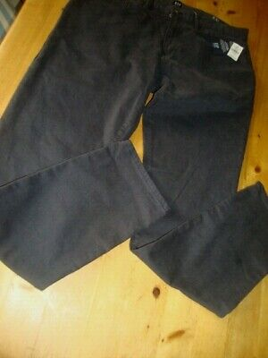 Men's GAP Navy Chinos Jeans Size 34 Waist / 32 Length Skinny Fit New with Tags