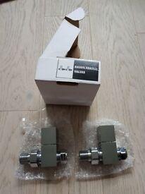Radiator valvet straight