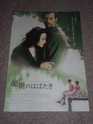TILL HUMAN VOICES WAKE HER 2002 flyer Japan Helena Bonham CARTER Guy PEARCE