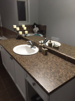 Kitchen & Bathroom countertops (with sinks and faucets) $75 each