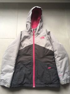 Manteau et salopette de ski - fille 10-12 ans North Face