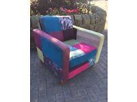 Beautiful multi coloured Chair