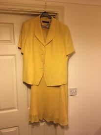 Windsmoor classic Silk and Linen Suit