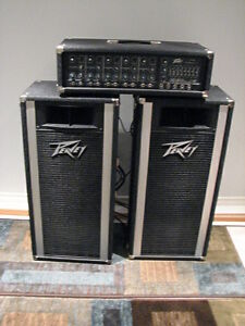 FOR SALE:  Peavey XR-500 P.A. System