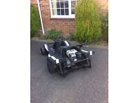 Formula 1 Go kart powered by petrol Honda engine all good working order