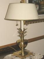 Lampe en bronze pour table/bahut/buffet/bureau/chambre