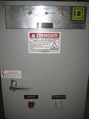 Square D Automatic Transfer Switch 70 Amp 480 Volt A1