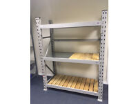 Used Pallet Racking (Various Sizes) - Heavy Duty Shelving for Garage & Warehouse (900kg/shelf)