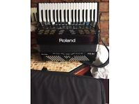 Roland FR3X accordion, black