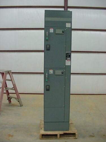 New Square D MCC Section Mod 6 Horizontal 1200 A Vertical 300A