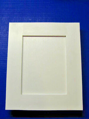 Shaker Style Cabinet Door Painted White **Custom Sizes Available**