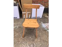 Two foldable ikea chairs