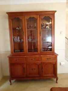 Gibbard Solid Cherry China Cabinet