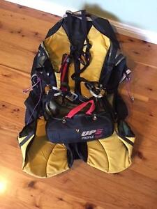 Kortel lightweight paragliding harness and reserve Blackheath Blue Mountains Preview