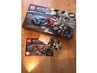Parts of Lego Speed Champions (from kit 75881 Ford GT & GT40)