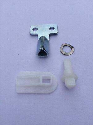 GAS / ELECTRIC METER BOX/DOOR REPAIR KIT Inc LATCH/LOCK plus METAL KEY.