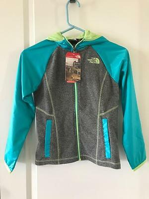 The North Face Girls Glacier Track Full Zip Hoodie NWT  North Face Glacier Track