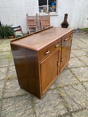 30s Art Deco, Solid Oak Sideboard