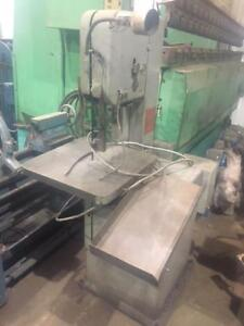 (USED) VERTICAL BAND SAW / DO-ALL 12 x 16""