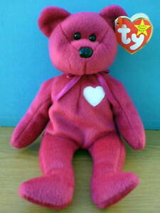 Valentina the St. Valentine's Day Ty Beanie Baby stuffed animal