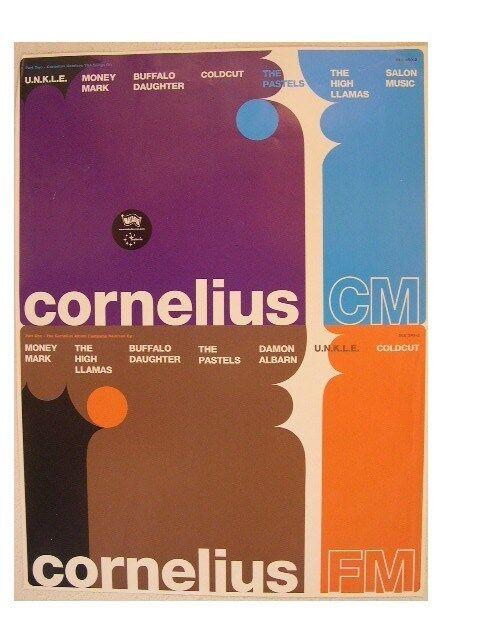 Cornelius Poster CM FM Coldcut Money Mark Buffalo