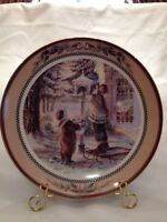 Trisha Romance Faithful Friends - Plate NIB